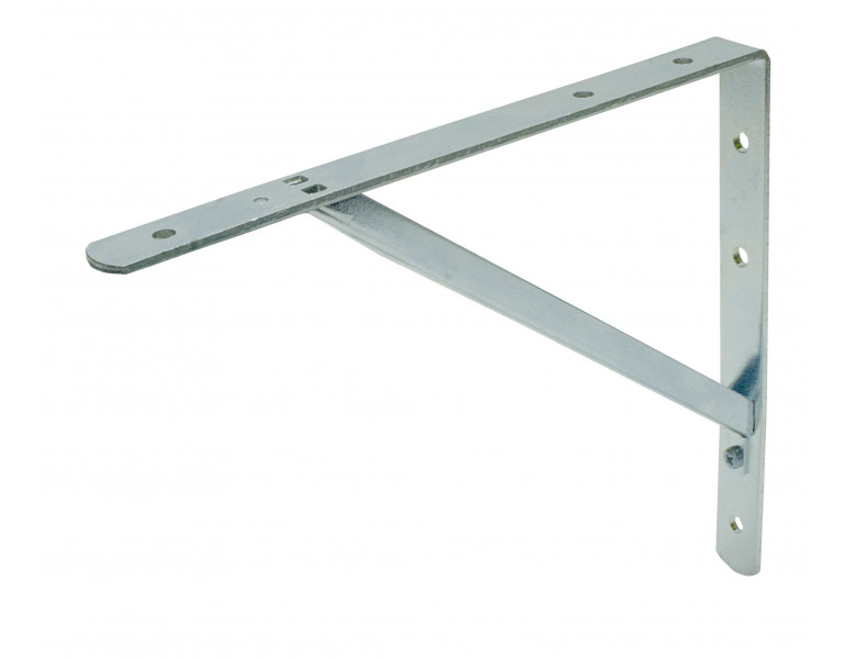 Shelf bracket white disconnectable 150x200 25x4/15x15x2 EV