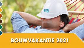 Bouwvakantie 2021